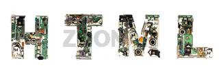 html electronic