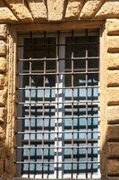 Window with lattice.