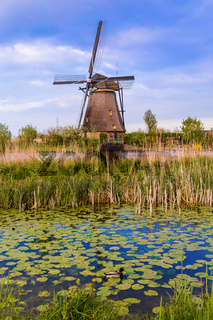 Windmills in Kinderdijk - Netherlands