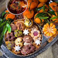 fresh and tasty Christmas cookies