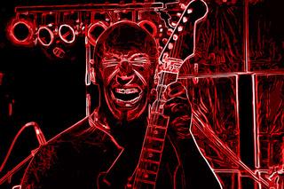 Hardrock Guitar Player