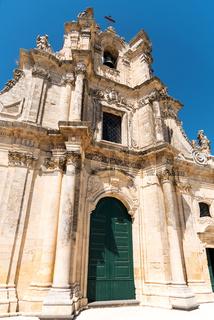 Die Kirche Chiesa Madre in Buscemi