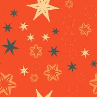 Orange Retro warping paper