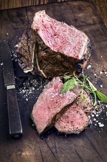 Barbecue t-Bone Steak