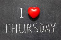 love Thursday