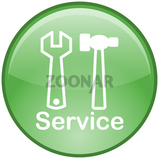 Service-Button (grün)