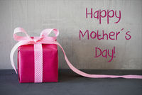 Pink Present, Text Happy Mothers Day