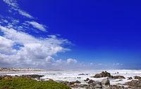 coastline Tsaarsbank at West Coast National Park, South Africa