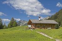 Enning alm in the Ammergau Alps