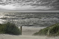 stormy Baltic Sea