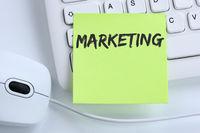 Marketing Werbung Firma Büro Erfolg Business Konzept Maus