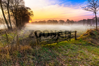 Sunrise in Eastfrisia