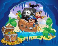 Pirate boat theme 4