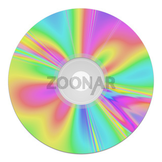 a colorful cd-rom music data storage