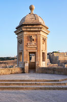 The view of the Guard tower from the Gardjola Gardens, Senglea