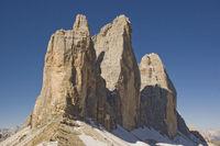 Three Peaks - landmark of the Dolomites