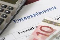 Finanzplanung eines Selbstständigen