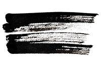 Expressive black brush strokes