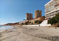 Beach of Dehesa de Campoamor.