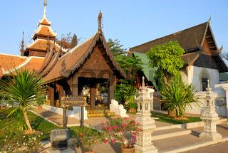 Beschauliche Tempelanlage in Thailand