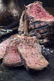 Barbecue Porterhouse Steak