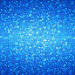 Blue Ocean Disco Matrix Background