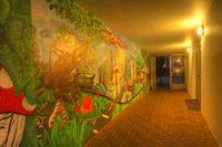 Tunnel with Graffiti