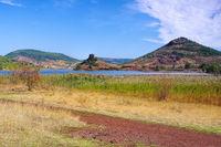 Lac du Salagou in Frankreich -  Lac du Salagou in France