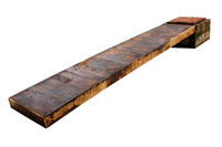 wooden small bridge