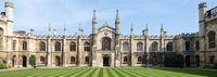 Courtyard of Corpus Christi College - University of Oxford