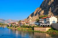 Old town of Amasya, Central Anatolia, Turkey