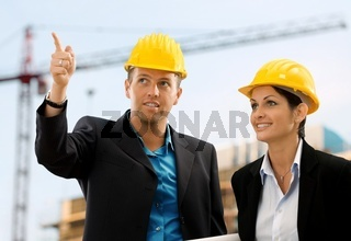 Smiling architects