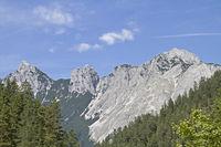 Arnspitz mountains in Tyrol