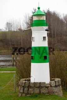 Leuchtturm an der Schlei. Deutschland