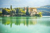 Castel Toblino in Italy