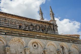 Kathedrale San Cerbone, Massa Marittima, Architektur der Renaissance, Toskana, Italien