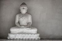 Buddha statue near temple