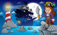 Night pirate scenery 1