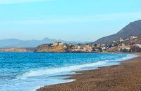Summer sea beach view, Spain