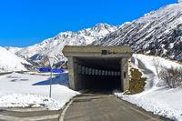 Tunneleinfahrt am Nordportal