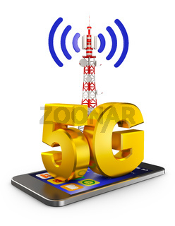 5G and  smartphone