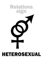 Astrology: HETEROSEXUAL (Straight)
