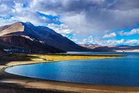Tso Moriri on sunset, Ladakh