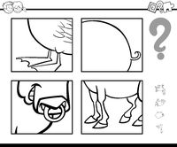 guess animal coloring page