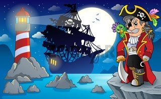 Night pirate scenery 3