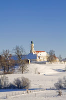 Monastery Reutberg near lake Kirchsee
