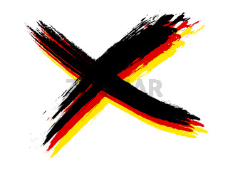 cross german colors