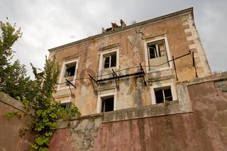 Altes Haus in Cavtat. Kroatien