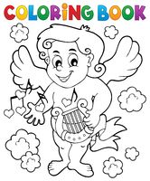 Coloring book with Cupid 7