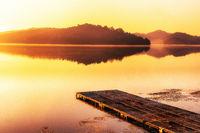 oksan reservoir sunrise